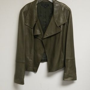 Lafayette 148 New York Olive Green Blazer Size 14